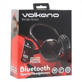 "CASQUE SPORT VOLKANO ""VB-503BK "" Bluetooth avec brassard"