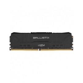 MEMOIRE DDR4 3000 8G 1x8G BALLISTIX Black *BL8G30C15U4B*version Bulk*