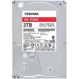 """DISQUE DUR TOSHIBA P300 Desktop 3 To  3.5"""" SATA 6 7200T 64 Mo"""