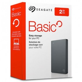 "DISQUE DUR 2 To  SEAGATE BASIC 2.5"" USB3.0  (STJL2000400)"