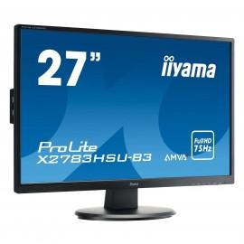 "ECRAN IIYAMA 27"" *X2783HSU-B3*AMVA+LED 4ms HP/VGA/HDMI/DP*"