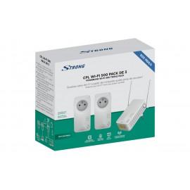 CPL STRONG CPL WiFi 500 Pack de 3