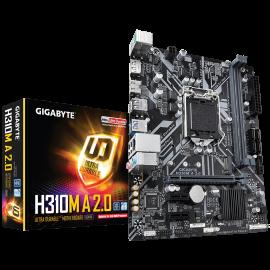 Carte mère GIGABYTE pour processeur Intel - référence : H310M A 2.0