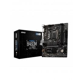 Carte mère MSI pour processeur Intel - référence : B460M-A PRO