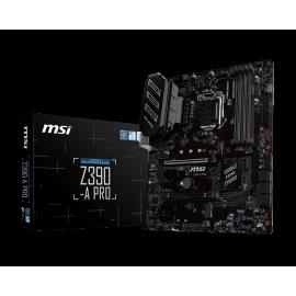 Carte mère MSI pour processeur Intel - référence : Z390-A PRO