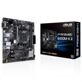 Carte mère ASUS pour processeur AMD - référence : PRIME B450M-K II