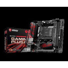 Carte mère MSI pour processeur AMD - référence : B450I GAMING PLUS AC