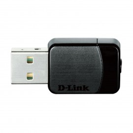 Clé USB Nano WiFi AC 600Mbps (AC 450 + N150) Dual Band D-Link - référence : DWA-171