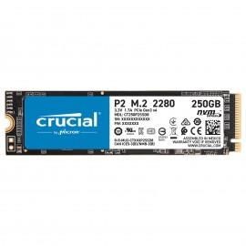 Disque dur SSD NVMe M.2 crucial - référence : CT250P2SSD8