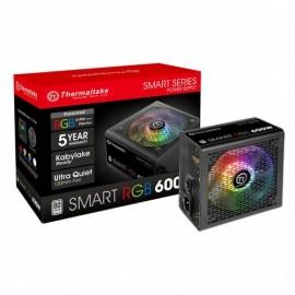 Alimentation pour PC de bureau THERMALTAKE Smart RGB - référence : PS-SPR-0600NHSAWE-1