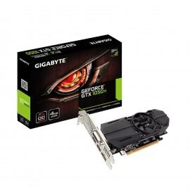 Carte Graphique GIGABYTE GeForce® GTX 1050 Ti OC - référence : GV-N105TOC-4GL