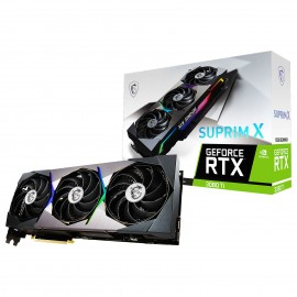 Carte graphique MSI GeForce RTX 3080TI SUPRIM X 12G - référence : GEFORCE RTX 3080TI SUPRIM X 12G