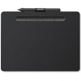 Wacom Intuos M avec Bluetooth Noir Tablette Graphique (CTL-6100WLK-S)