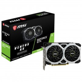 CARTE VIDEO MSI GTX 1660 VENTUS XS 6G OC