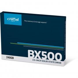 DISQUE DUR SSD CRUCIAL 2.5 BX500 SATA 240G *CT240BX500SSD1*